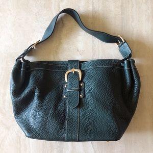 Dooney & Bourke Dark Green Genuine Leather Purse
